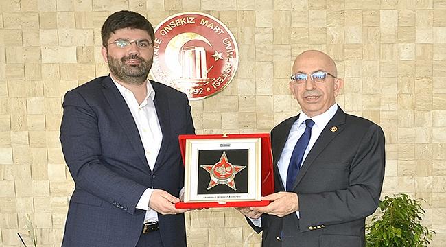 GESTAŞ Genel Müdürü Uslu'dan Rektör Murat'a ziyaret