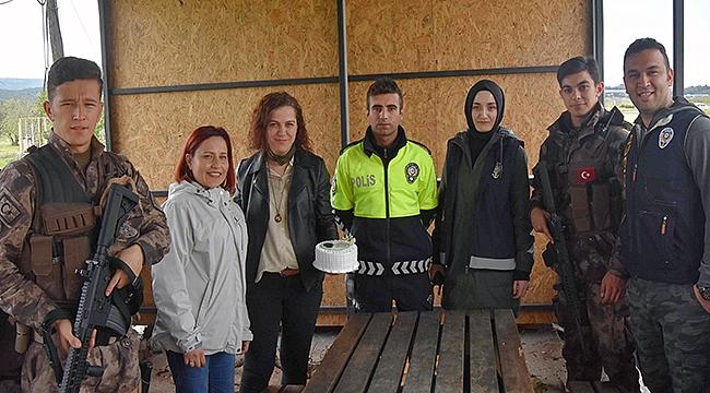 Gestaş'tan Polis Haftasında sürpriz kutlama