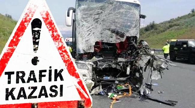 İstanbul-Çanakkale seferindeki otobüs kaza yaptı 2 ölü!