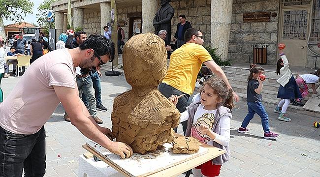 Arkeo-Köy Tevfikiye sanatseverlere kültür-sanat dolu bir gün yaşattı