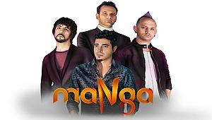 Çanakkale'de Gençlik Konserinde Sahne Manga'nın