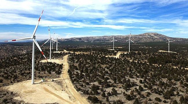 Çanakkale Üçpınar Rüzgar Enerji Santrali üretime geçti