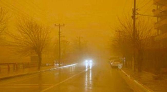 Çanakkale'ye sarı kodlu uyarı! Kuzey Afrika kaynaklı…