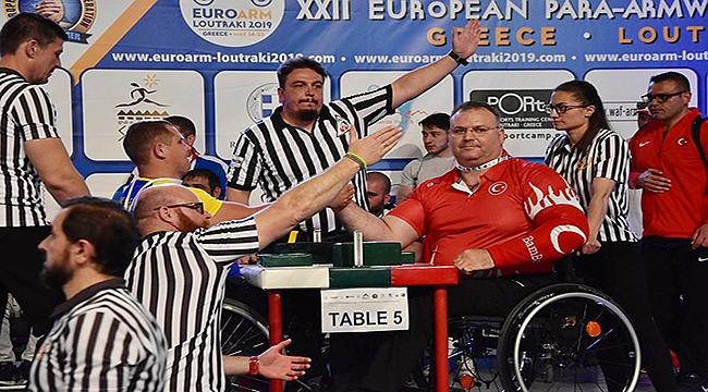 Çanakkaleli Ümit Burunlular Avrupa Şampiyonu