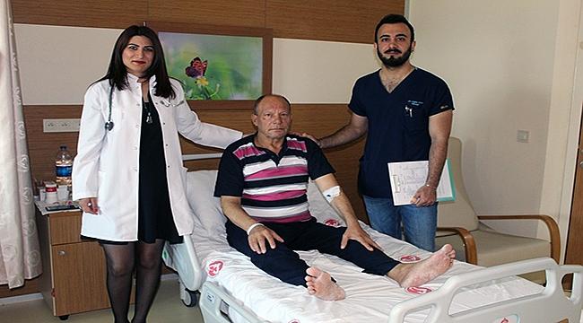 ÇOMÜ Hastanesinde trombolitik tedavi uygulaması