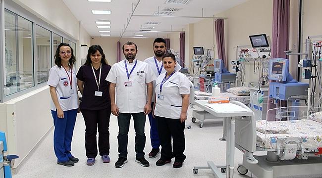 ÇOMÜ Tıp Fakültesinde Çocuk Yoğun Bakım Ünitesi Hizmette