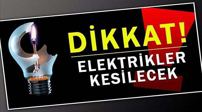 Esenler Mahallesi'nde elektrikler kesilecek!