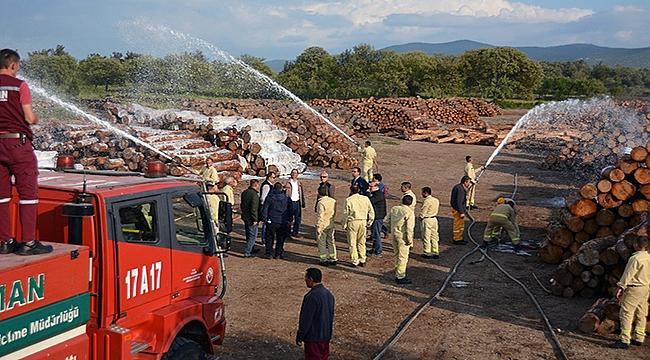 Orman Yangınları İle Mücadele Eğitimleri Tamamlandı
