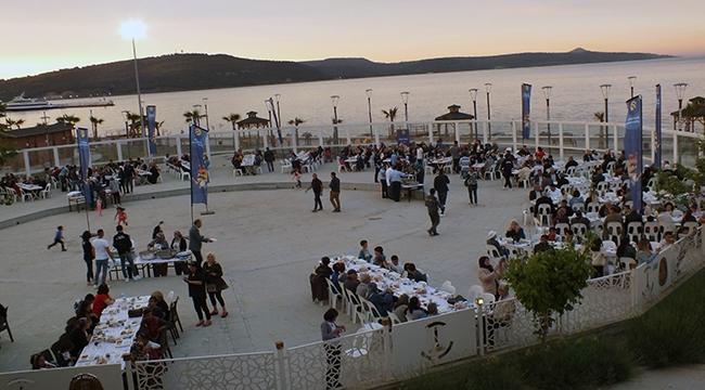 Turkcell'den Çanakkale'de 2250 kişiye iftar sofrası