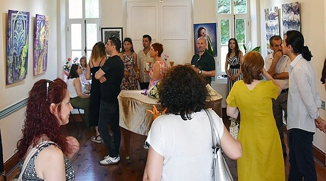'Akustik Renkler' Devlet Güzel Sanatlar Galerisinde Açıldı