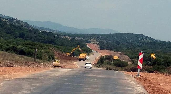 Assos-Behramkale yolu daha güvenli ve konforlu olacak