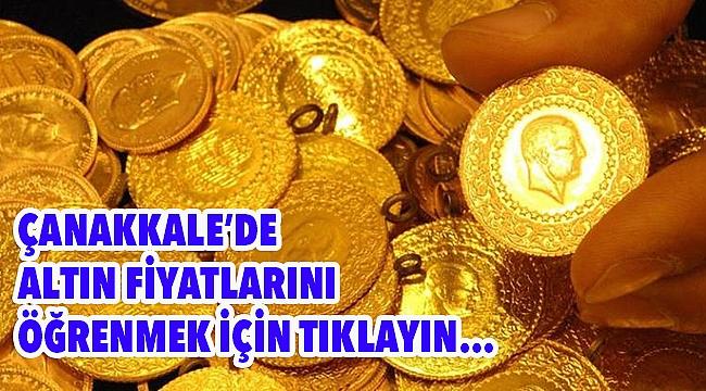 Çanakkale'de çeyrek altın 450 TL oldu!