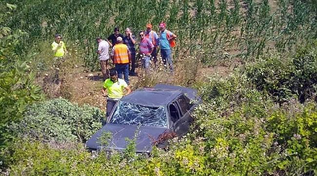 Çanakkale'deki kazada baba-oğulu ölüm ayırdı!