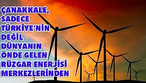 Çanakkale, rüzgar enerjisinde lider!