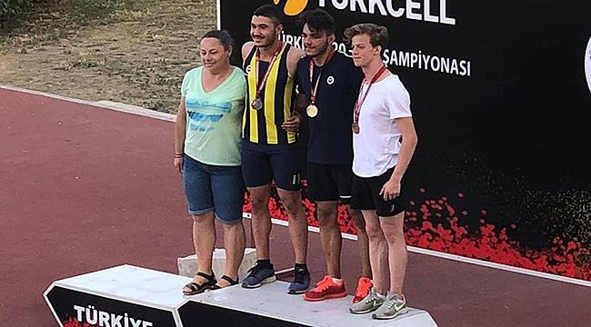 Çanakkaleli Sporcu Türkiye Şampiyonu