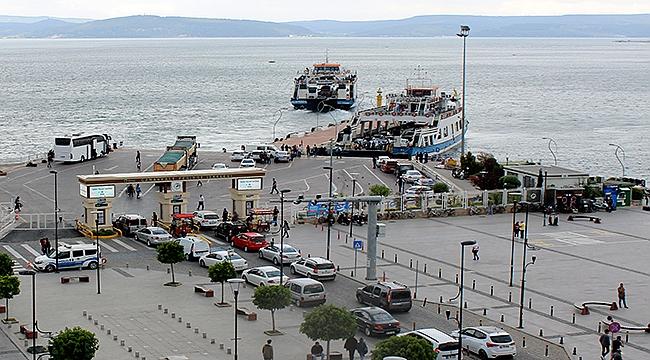 Feribot girişi Demircioğlu Caddesi üzerinden olmayacak!