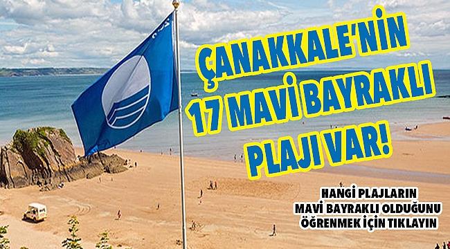 Mavi bayraklı plaj sayımız 17 oldu!