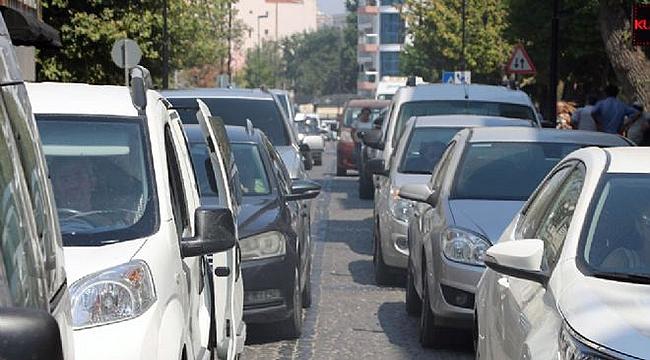 Çanakkale'de araç sayısı arttı!