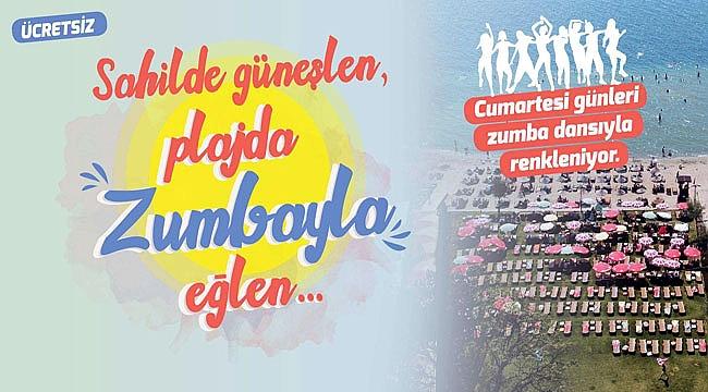 Çanakkale'de Plajda Zumba Keyfi Başlıyor