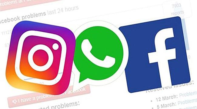 Facebook, WhatsApp, Instagram'a erişim sorunu!