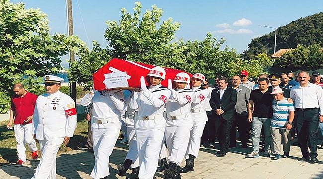 Kıbrıs Gazisi Engin, son yolculuğuna uğurlandı