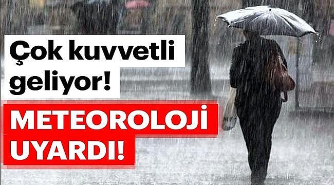 Meteorolojiden Çanakkale ve ilçelerine çok ciddi uyarı!