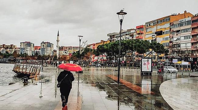 Serin ve yağışlı hava tahmini! Çanakkale'ye yağmur sürprizi