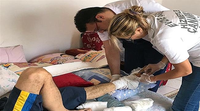 Çanakkale'de 11 bin 887 hastaya evde sağlık hizmeti