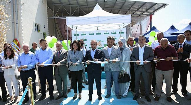 Çanakkale'de 13 milyon TL maliyetle tamamlanan soğuk hava tesisi açıldı