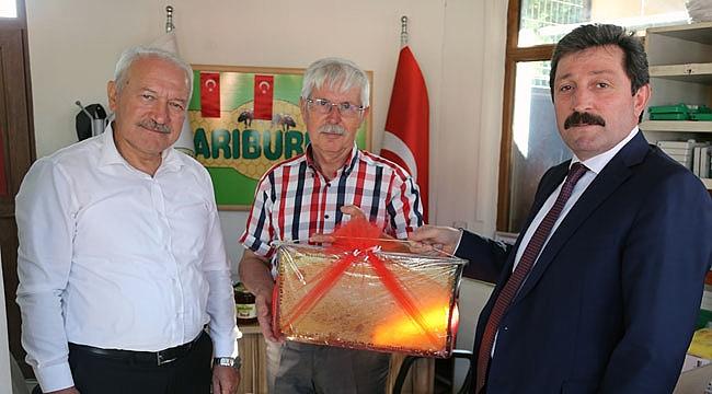 Çanakkale'de arıcılık projelerle gelişiyor