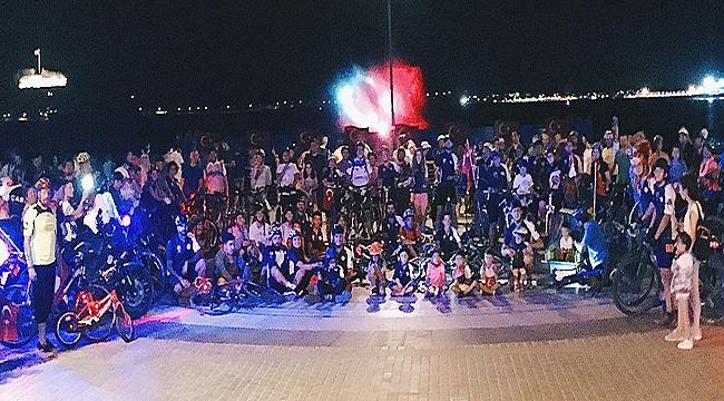 Çanakkale'de bisikletlerle 30 Ağustos zafer turu