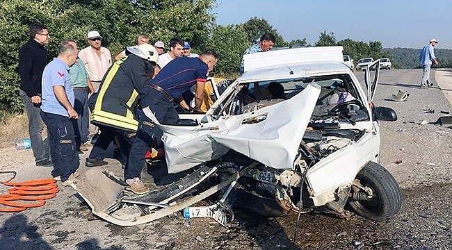 Çanakkale'de feci kaza 2 ölü