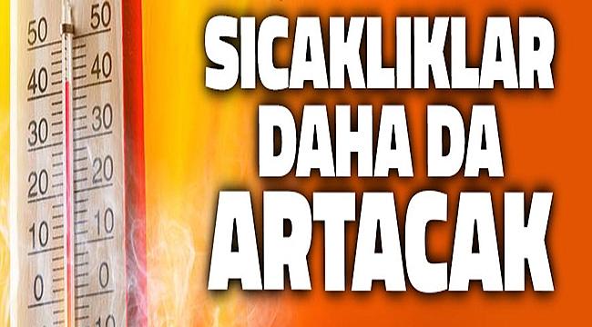 Çanakkale'de hava sıcaklıkları artmaya devam edecek!