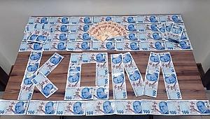 Çanakkale'de piyasaya sahte para sürenler yakalandı!