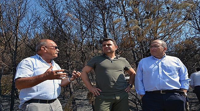 Çanakkale Tarihi Alanı'ndaki yangın sonrası değerlendirme!