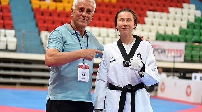 Çanakkaleli Taekwondocu Avrupa Şampiyonası'nda ülkemizi temsil edecek