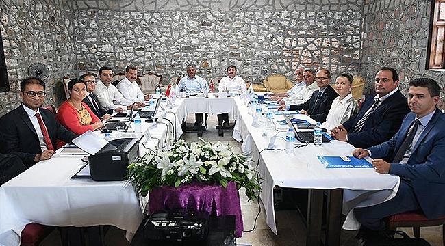 GMKA Yönetim Kurulu Başkanlığı görevi Vali Yazıcı'ya geçti