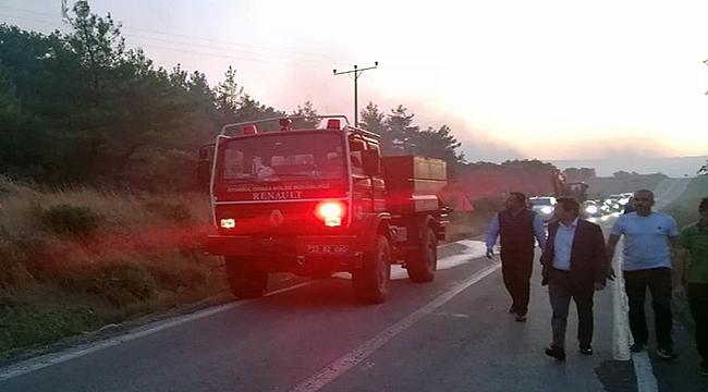 Vali Tavlı'dan yangın mücadelesine özel teşekkür