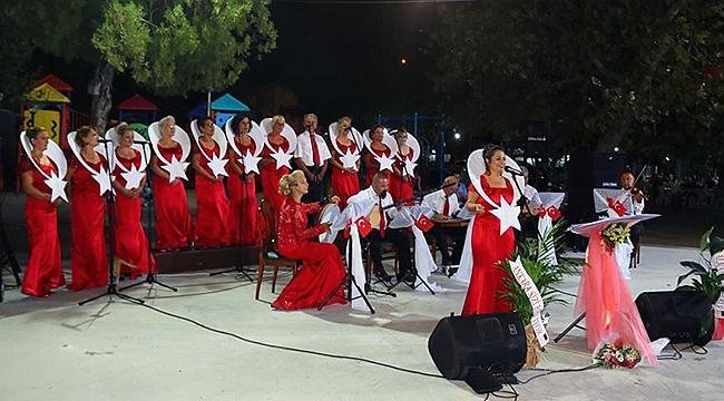 Berceste Korosu Atatürk'ün sevdiği şarkıları ile mest etti