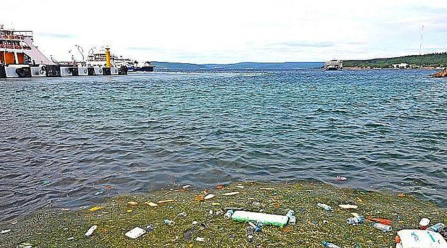 Çanakkale'de deniz kirliliği masaya yatırıldı!