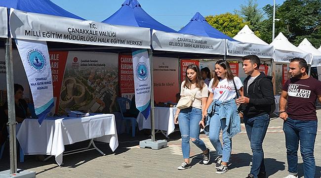 Çanakkale'nin kurumları öğrencilerle buluştu