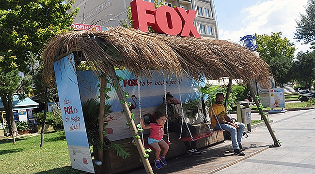 Çanakkale'ye salıncaklı FOX durağı!