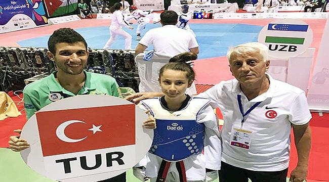 Çanakkaleli Sporcu Zeynep Taşkın Balkan Şampiyonu