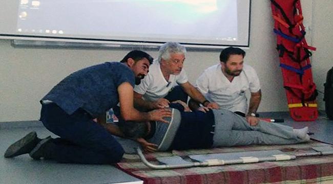 Hastane personeline acil ve afet durum eğitimi