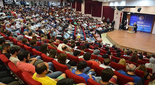Türk Asıllı Dünyada Ünlü Bilim İnsanları ÇOMÜ'de Konferans Verdi