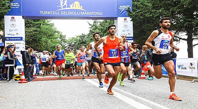 Turkcell Gelibolu Maratonu'nda  her katılımcı için bir fidan dikilecek