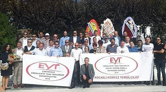 Çanakkale Emeklilikte Yaşa Takılanlar (EYT) Derneği Açıldı
