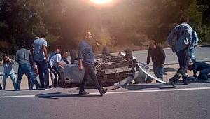 Çanakkale-İzmir yolunda feci kaza!