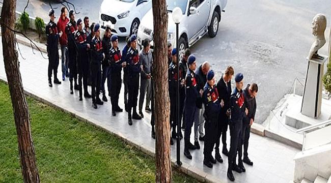Çanakkale merkezli dev operasyon 23 gözaltı