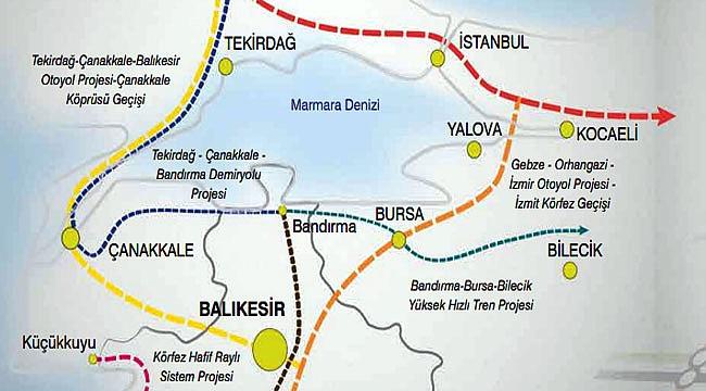 Çanakkale'ye hızlı tren mi geliyor?